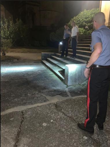 Varallo: vandalizzata l'installazione della Flagellazione