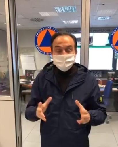 """Coronavirus, Cirio: """"Misure di contenimento sembrano fare effetto, ma si continui a stare a casa"""""""