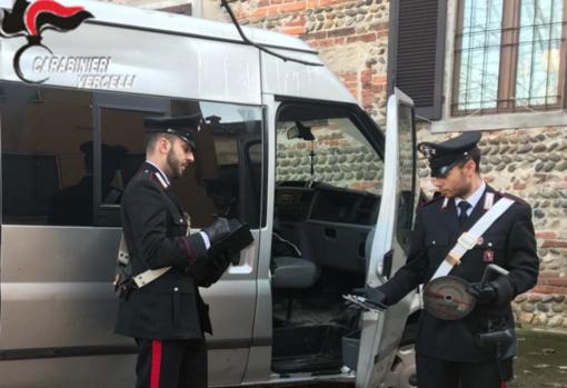 Buronzo: Sul furgone gli attrezzi da scasso (e in fedina penale una condanna da scontare)