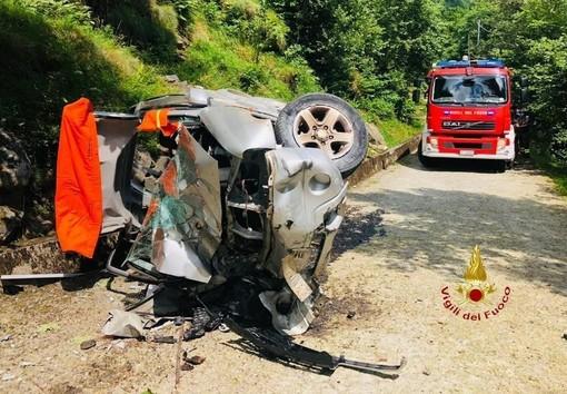 Precipita con l'auto da un dirupo, morto il vicesindaco di Rassa a 51 anni