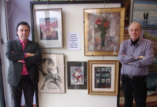 Le opere del Maestro vercellese Francesco Leale alla Galleria Nelson di Vercelli
