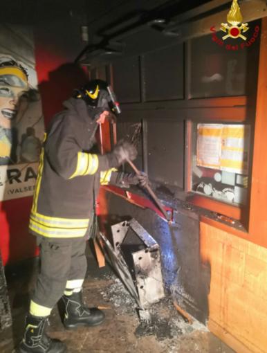 Principio di incendio al Pub Manera di Scopello