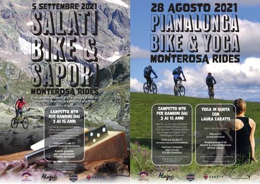 Campetti MTB, Yoga Alpino e Sapori d'Alta Quota: eventi per tutta la famiglia ai piedi del Monte Rosa