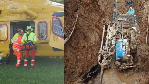Pray, infortunio sul lavoro: operaio di 40 anni in ospedale con l'elisoccorso