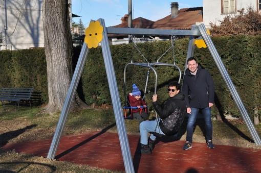 Gattinara, un nuovo gioco al Parco della Vita e al parchetto di San Bernardo
