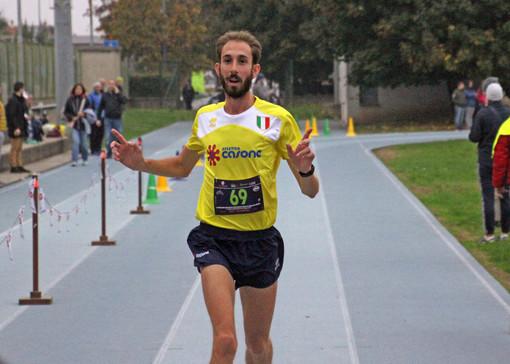 Francesco Carrera primo alla StraMagenta