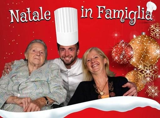 Gattinara: da Parigi Alberto Quadrio torna a casa per regalare la cena di Natale alla casa di riposo Patriarca