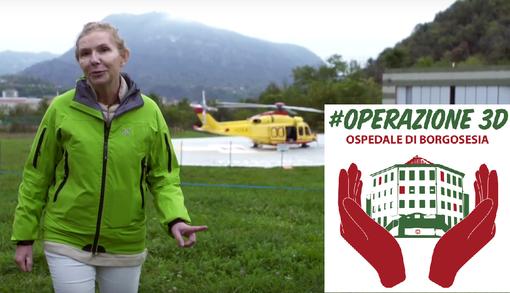 """#Operazione3D Ospedale di Borgosesia, Fondazione Valsesia: """"Grazie è dir poco"""""""