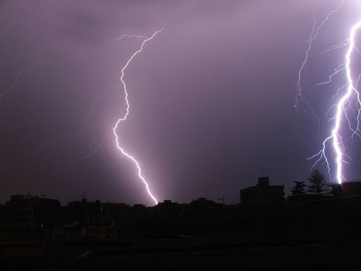 Valsesia: allerta gialla, previsti forti temporali dal pomeriggio di oggi