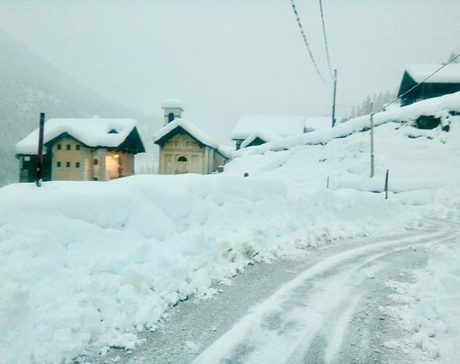 Foto pagina facebook comune Alagna Valsesia
