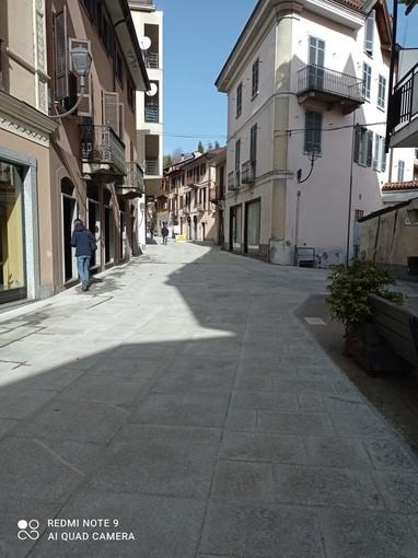 Borgosesia: Taglio del nastro per la rinnovata via Cairoli
