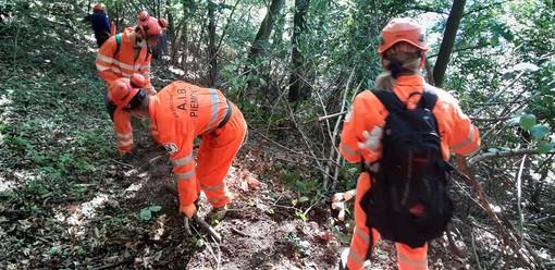 Quarona: Volontari AIB impegnati nel week end  per ripulire i sentieri