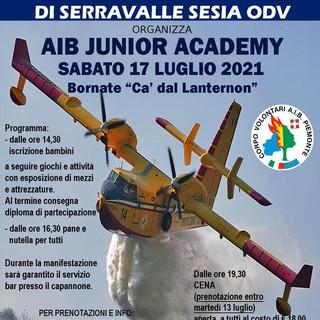 Serravalle: Volontari AIB incontrano i bambini a Bornate