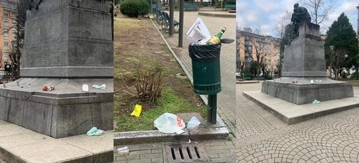 Assembramenti davanti ai locali e rifiuti abbandonati al parco: Borgosesia prepara il giro di vite