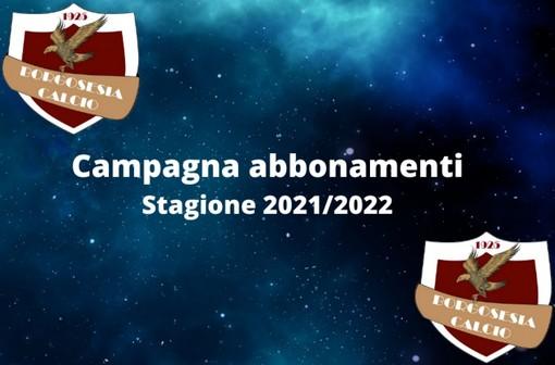Borgosesia Calcio: Campagna abbonamenti campionato 2021/2022