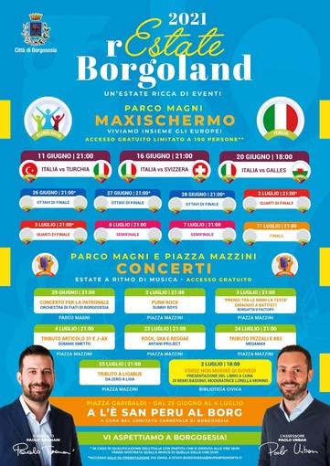 Borgosesia: 2021 Restate a Borgoland, eventi in città