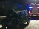 Incidente a Coggiola, auto finisce fuori strada e si cappotta