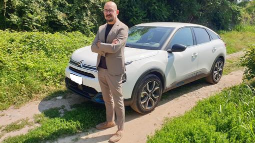 Guidare un'auto elettrica: l'esperienza di Flavio Marchisotti e la sua Citroën ë–C4