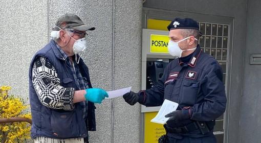 Emergenza coronavirus, i Carabinieri di Vercelli a tutela delle fasce deboli