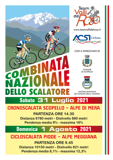 Il ciclismo torna in Valsesia