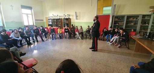 Cultura della Legalità, i Carabinieri tra gli alunni delle scuole di Valle Mosso