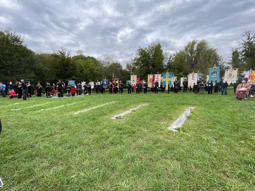La cerimonia in ricordo della vittime di Linate