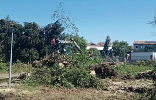 Corsaro: «Documentate i danni: è fondamentale per i rimborsi». Maltempo, Cirio a Vercelli. I sindaci: «Serve un aiuto per ripartire»