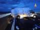 Incidente in autostrada: si ribalta un furgone