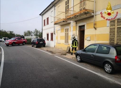 Fuga gas a Vercelli. Intervento dei Vigili del Fuoco