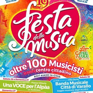 Varallo: E' festa della musica