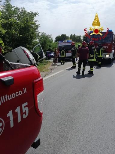 Incidente a Romagnano Sesia