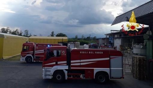 Gattinara: Incendio alla Sanac. Danni ma nessun ferito