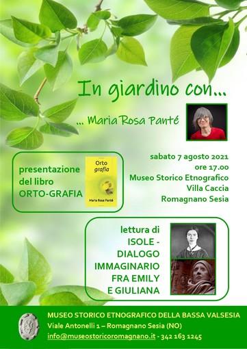 evento Maria Rosa Panté Romagnano 2021