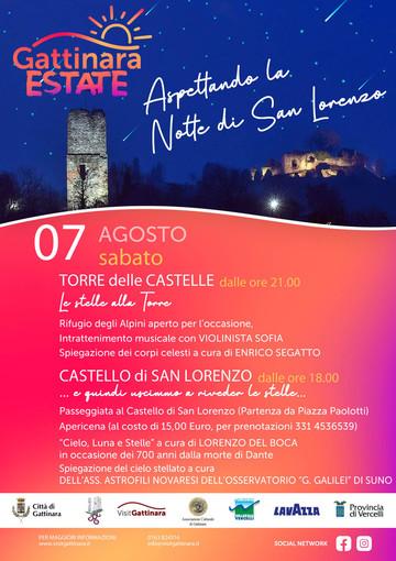 Aspettando la Notte di San Lorenzo a Gattinara