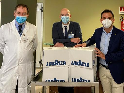 Gattinara, da Lavazza cialde di caffè per gli operatori sanitari del territorio