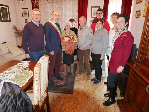 Prato Sesia festeggia i 100 anni di Maria Rossin