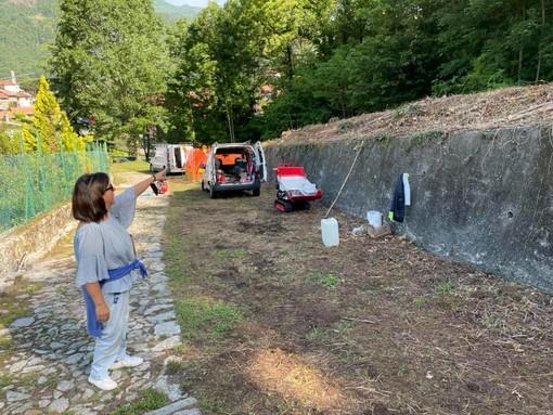 Quarona, mulattiera per la Chiesa di San Giovanni: Lavori per illuminazione e manutenzione del verde