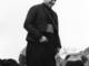 Monsignor Luigi Bettazzi nel 1967 all'inaugurazione della Madonna dei Ghiacciai