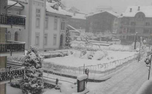 Neve su gran parte del Piemonte, ora anche in Valsesia