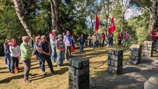 All'Alpe Noveis non si dimentica la strage dei 7 giovani partigiani