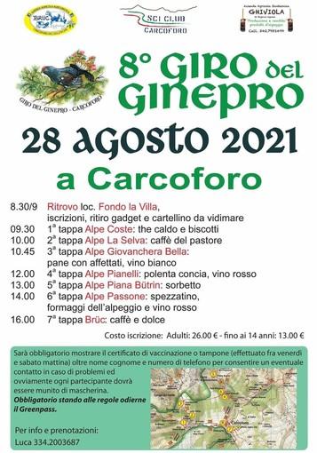 Carcoforo: il Giro del Ginepro alla sua ottava edizione