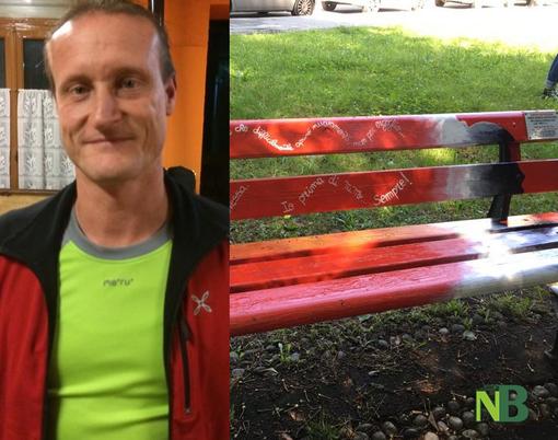 """Portula, panchina rossa nel mirino dei vandali ancor prima dell'inaugurazione, sindaco: """"Gesto imbecille"""""""