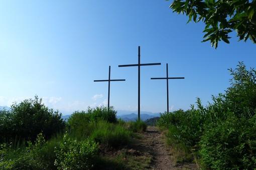 Le Tre Croci del monte Fenera