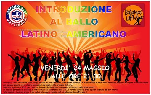 All'Acli di Gattinara corso di avvicinamento al ballo latino-americano