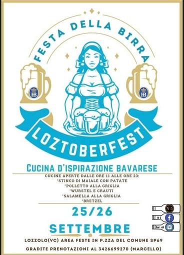 Lotzoberfest: La tradizione bavarese arriva a Lozzolo