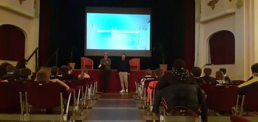 Daniele Cassioli al teatro civico di Varallo