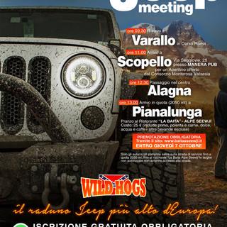 Monte Rosa Jeep Meeting, la passione per i fuoristrada a 2.500 metri di altezza