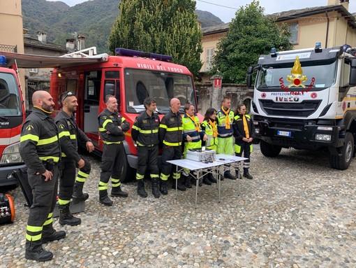 Varallo: anche il comandante dei Vigili del Fuoco alla giornata della Protezione Civile