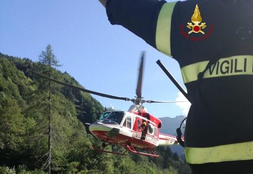 Foto comando provinciale Vigili del Fuoco